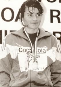 Nieuwegein Olanda, aur in 1991 la Campionatul Mondial de atletism pentru femei. Cursa a facut-o pe Iulia Negura a 12a cea mai rapida femeie din istorie,