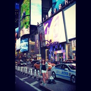 Turist zăpăcit la New York