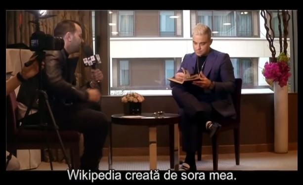 """Au tradus ăștia incorect, Morar de fapt a repetat papagalicește """"The Wikipedia of my sister"""""""