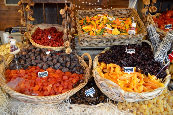 Dried fruits and their wonderful colours